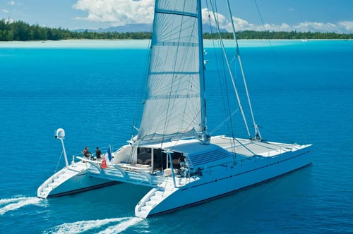 Luxury Catamaran Charter Yacht