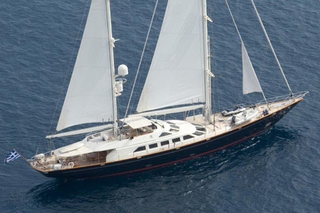 Luxury Sailboat Charter Yacht